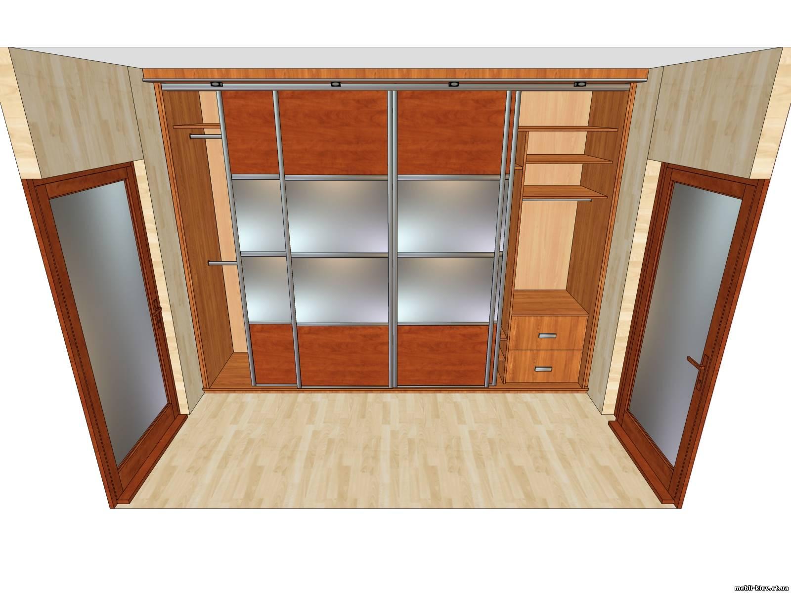 Встроенные шкафы купе в спальню своими руками