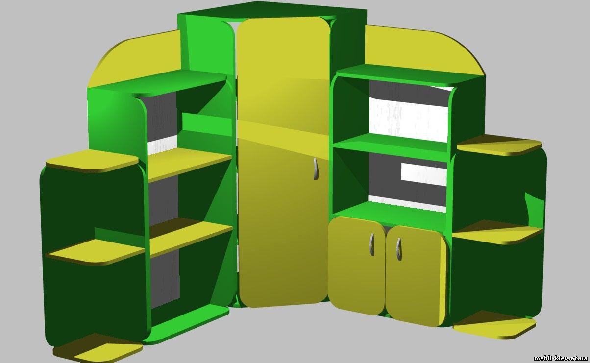 Шкафы купе, кухни, спальни, прихожие, де - меблі для дитсадк.